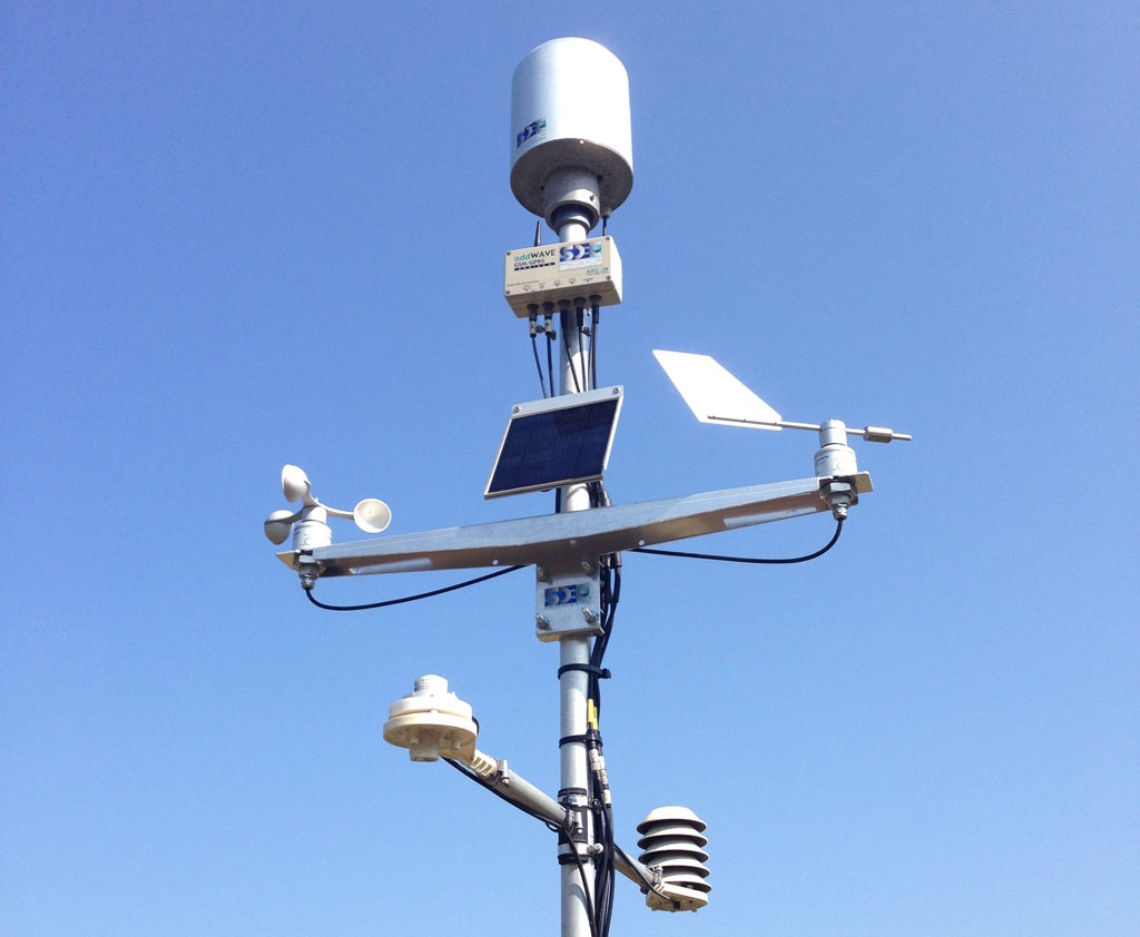 Stations m t o transmission gprs ou radio for Station meteo exterieur