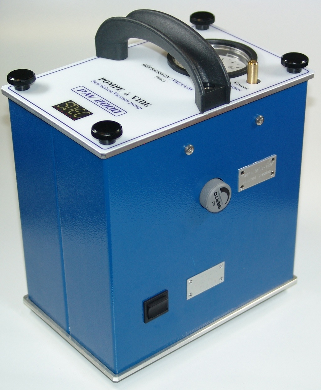 Battery operated Vacuum pump PAV 2000