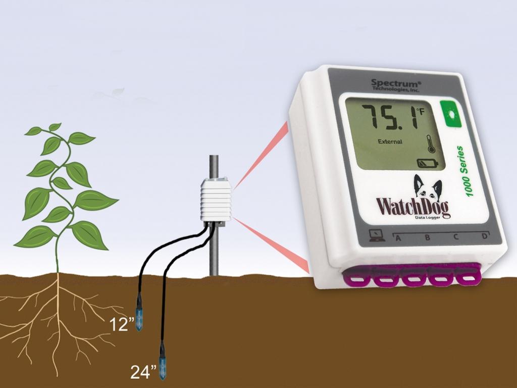 Humidimètre de sol capacitif capteur Waterscout SM 9 et SMEC 9